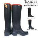 【あす楽】エーグル AIGLE 長靴 レディース ZZF8888 ミスジュリエット A 2 レインブーツ ロング 防水 MISS JULIETTE