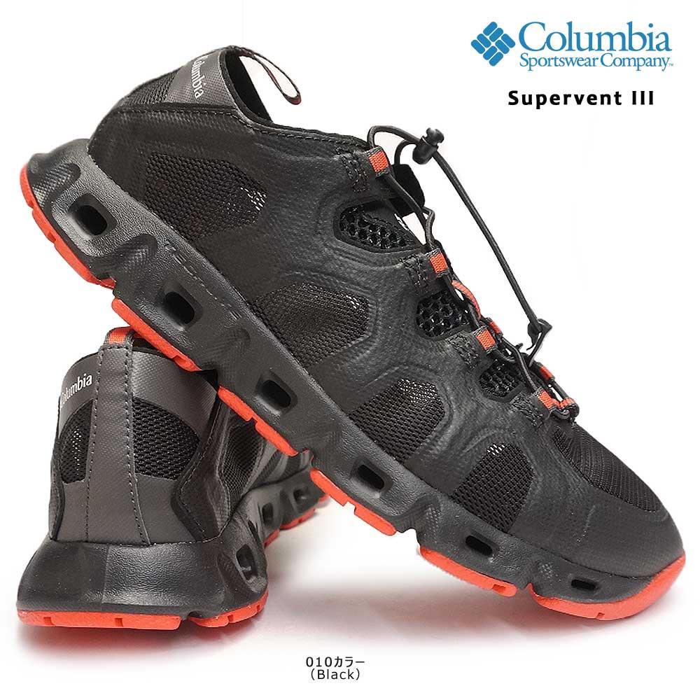 コロンビア Columbia ウォーターサンダル スーパーベント3 BM4628 アウトドア メンズ キャンプ SUPERVENT3 010