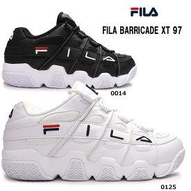 【あす楽】フィラ FILA スニーカー メンズ バリケード TX97 F0414 レトロ バスケットシューズ ダッドスニーカー BARRICADE