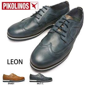 【あす楽】ピコリノス PIKOLINOS 靴 メンズ カジュアルシューズ M0K-4208 ウィングチップ PK322 ドレスカジュアル ビジネス Leon