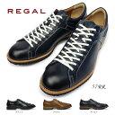【あす楽】リーガル REGAL 靴 57RR カジュアルシューズ メンズ レザー レースアップ 57RRAH