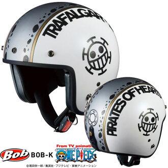 OGK BOB-K连衣裙小喷气安全帽低白-18(特拉法加·低)ONE PIECE协作摩托车安全帽