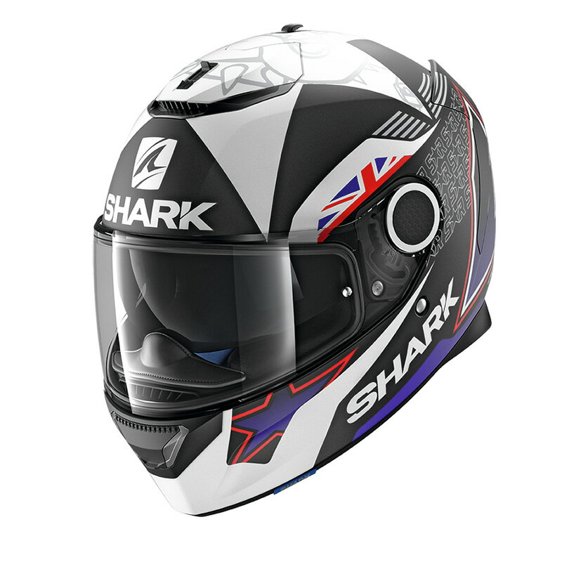 SHARK SPARTAN Replica Redding 【XL(61-62cm)サイズ】 シャーク スパルタン フルフェイス ヘルメット Q1C-LIK-Y02-X45
