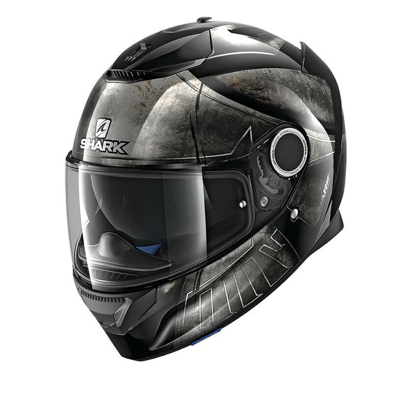 SHARK SPARTAN HOPLITE 【M(57-58cm)サイズ】 シャーク スパルタン フルフェイス ヘルメット Q1C-LIK-Y02-M61