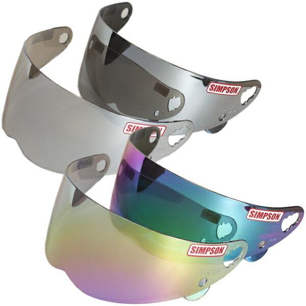 シンプソン フルフェイスヘルメット用 オプションミラーシールド BANDIT/RX10/DIAMONDBACK/SUPER BANDIT13/OUTLAW freestopシールド