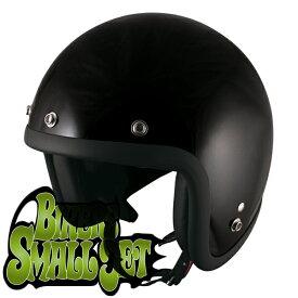 TNK工業 SPEED PIT スモールジェットヘルメット JL-65 BIKERS シングルカラー ブラック