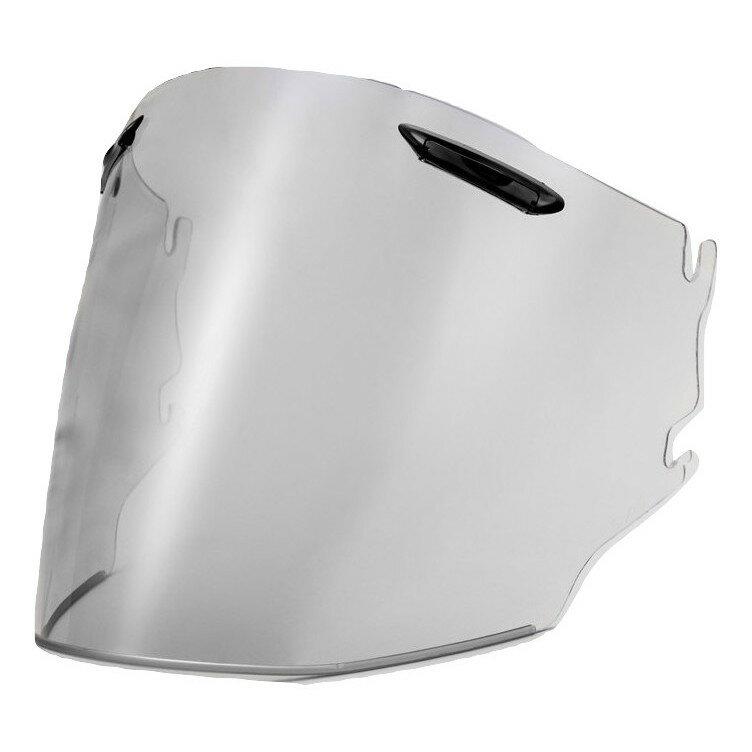 【Arai スーパーアドシスZR シールド】 (クリアベース/シルバーミラー) 山城 EXTRA SHIELD オープンフェイス(ジェット)ヘルメット用シールド