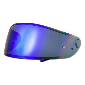 【SHOEI CWR-1 シールド】 (ダークスモークベース/ブルーミラー) 山城 EXTRA SHIELD フルフェイスヘルメット用シールド