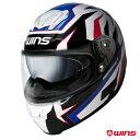WINS FF-COMFORT TANATOS フルフェイスヘルメット 【トリコロール:Lサイズ】