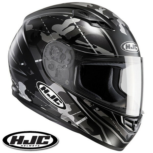 HJC CS-15 ソンタン フルフェイスヘルメット 【ブラック XL(61-62cm):HJH114 SONGTAN】