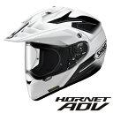ショウエイ HORNET ADV SEEKER (ホーネット ADV シーカー) オフロードヘルメット 【TC-6(WHITE/BLACK) XLサイズ】