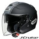 ショウエイ J-CRUISE CORSO (Jクルーズ コルソ) ジェットヘルメット 【TC-10(BLACK/SILVER) XXLサイズ】※つや消しカラー