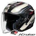 ショウエイ J-CRUISE PASSE (Jクルーズ パッセ) ジェットヘルメット 【TC-10(BROWN/WHITE) XXLサイズ】