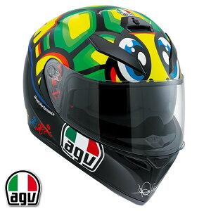 AGV K-3 SV TARTARUGA フルフェイスヘルメット バレンティーノ・ロッシ レプリカモデル 【XL(61-62cm)サイズ】 【SG規格/日本国内正規代理店品】