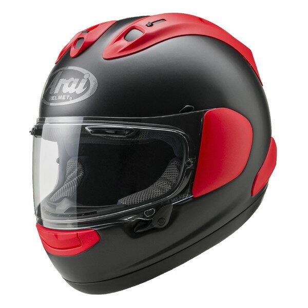 アライ×山城 RX-7X フルフェイスヘルメット 【フラットブラック×レッド Mサイズ】