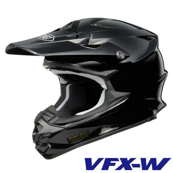 ショウエイ VFX-W オフロードヘルメット 【ブラック Lサイズ】