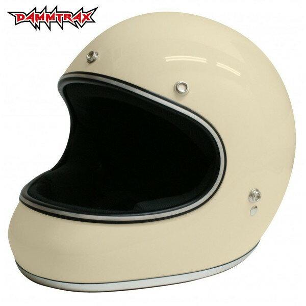 ダムトラックス AKIRA 【アイボリー M(57-58cm)サイズ】 アキラ フルフェイスヘルメット