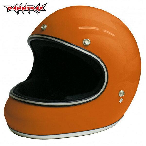 ダムトラックス AKIRA 【オレンジ L(59-60cm)サイズ】 アキラ フルフェイスヘルメット
