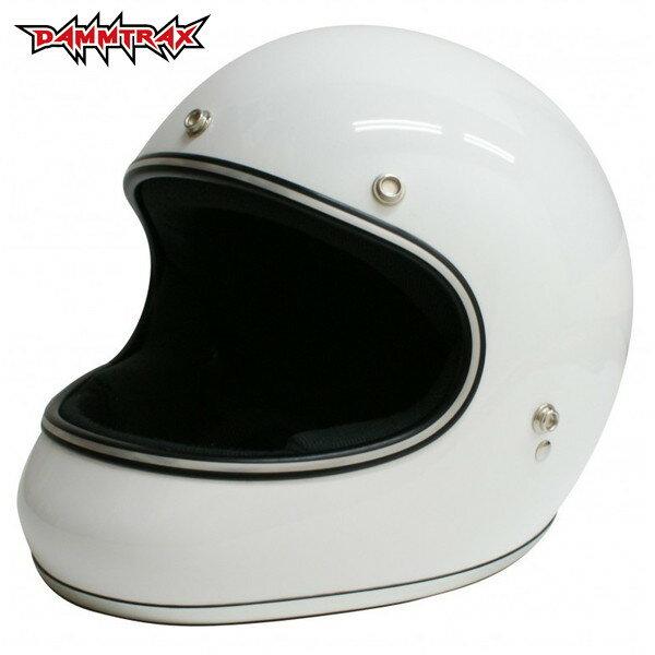 ダムトラックス AKIRA 【ホワイト M(57-58cm)サイズ】 アキラ フルフェイスヘルメット