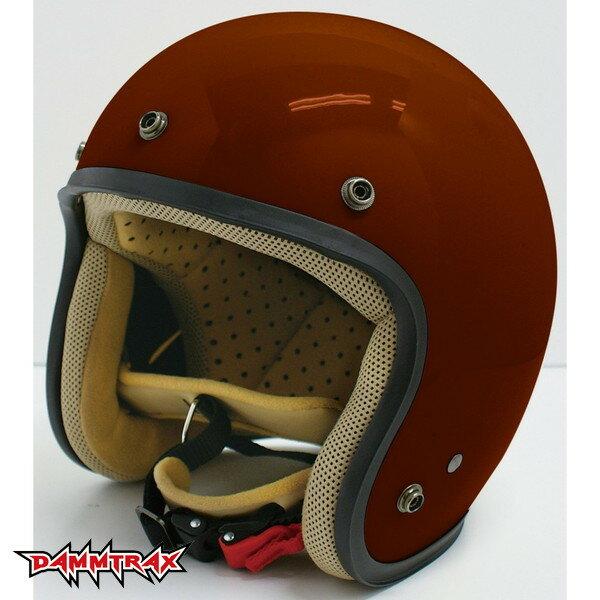 ダムトラックス JET-D 【マルーン レディースフリー(57-58cm)】 ジェットヘルメット