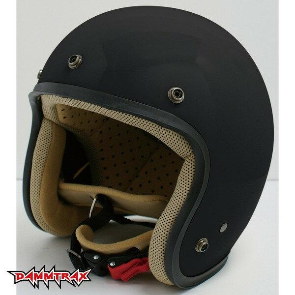 ダムトラックス JET-D 【マットブラック レディースフリー(57-58cm)】 ジェットヘルメット