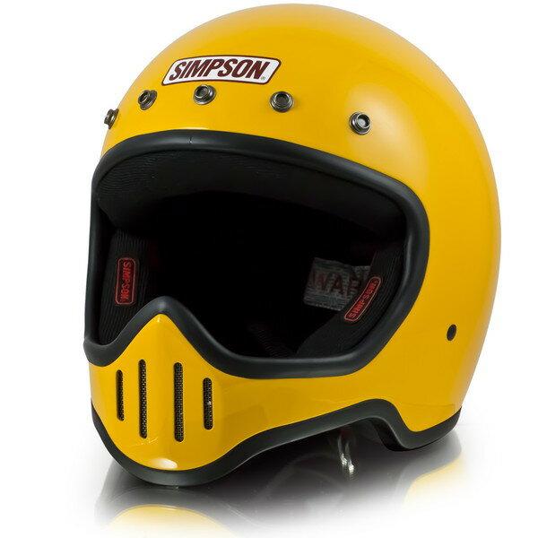 シンプソン M50 【イエロー 57-58cm】 MODEL 50 フルフェイスヘルメット