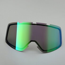 SHARK DRAK用 ゴーグルフレーム用レンズ イリジウムグリーン Q8C-LIK-Y02-F08