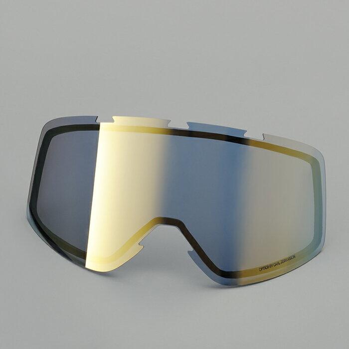 SHARK DRAK用 ゴーグルフレーム用レンズ ミラーゴールド Q8C-LIK-Y02-F85