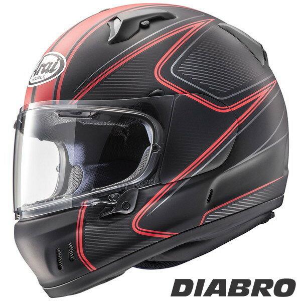 アライ XD DIABLO フルフェイスヘルメット 【ディアブロ・赤 S(55-56cm)サイズ】