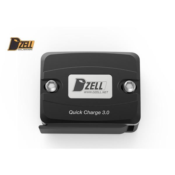 Dzell USBポート リザーブタンク ボルトオンタイプ 1ポート(ブラック)