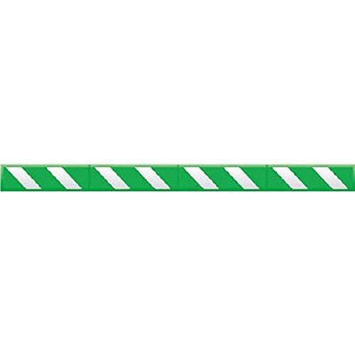 つくし工房/つくし つくし コーナークッションスリム 緑地 白反射シート C201B【smtb-s】