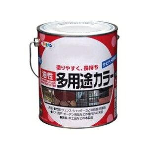 アサヒペン AP 油性多用途カラー 1.6L なす紺