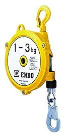 遠藤工業 (株) EW3 1070 ENDO スプリングバランサー EW-3 1.0〜5.0Kg 1.3m 1073982【smtb-s】