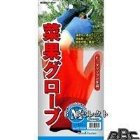 キンボシ 菜果グローブ(M) オレンジ