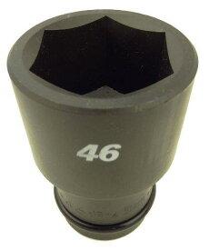 フラッシュツール 11WAU46FPC インパクト ロングソケット差込角25.4mm対辺46mm1.13/7695837【smtb-s】