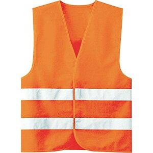 4073160040ミドリ安全 高視認安全ベスト 蛍光オレンジ8219512