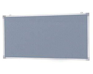 新協和 アルミ掲示板(吊下型)ラシャグレー貼 SMS-1022