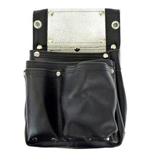 こま 黒エバ-スキン 釘袋2段マチ付 KK-30