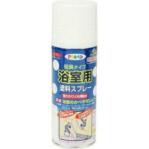 アサヒペン 浴室用塗料スプレー300ML白【入数:6】