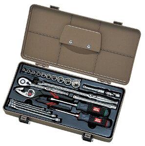 京都機械工具 KTC SK322P 整備用工具セット【〔22点〕メカニックツールセット】 000011770322【smtb-s】
