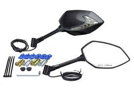 キジマ 【必ず購入前に仕様をご確認下さい】TECH07ミラー&LEDウインカー Ca (203-8076)【smtb-s】