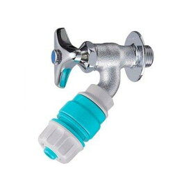 YAZAWA ジョインター散水栓 単水栓 逆止弁なし 適合ホース内径:12〜15mm PY807-13【smtb-s】