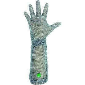 ミドリ安全(Midori Anzen) ミドリ安全 ステンレス製 耐切創クサリ手袋 5本指 ロングタイプ WILCO-550 SSサイズ 1枚【smtb-s】