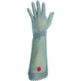 ミドリ安全(Midori Anzen) ミドリ安全 ステンレス製 耐切創クサリ手袋 5本指 ロングタイプ WILCO-550 Mサイズ 1枚【smtb-s】