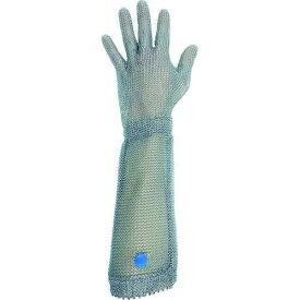 ミドリ安全(Midori Anzen) ミドリ安全 ステンレス製 耐切創クサリ手袋 5本指 ロングタイプ WILCO-550 Lサイズ 1枚【smtb-s】