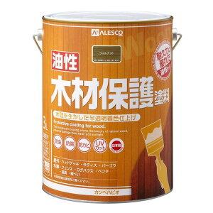 カンペハピオ(Kanpe Hapio) KH 油性木材保護塗料 ウォルナット 3L #00247643571030