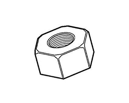 デンサン/ジェフコム ジェフコム NT-W9P 六角ナット 管理コード:15199