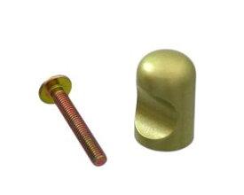ハイロジック キャノンツマミ 直径15ミリ サテンゴールド