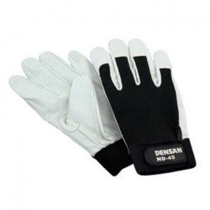 デンサン/ジェフコム 電工手袋 ND-45L 管理コード:5348【smtb-s】