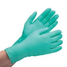 ミドリ安全 ニトリル使い捨て手袋 薄手 粉なし 200枚入 緑 LL VERTE-761H LL【smtb-s】